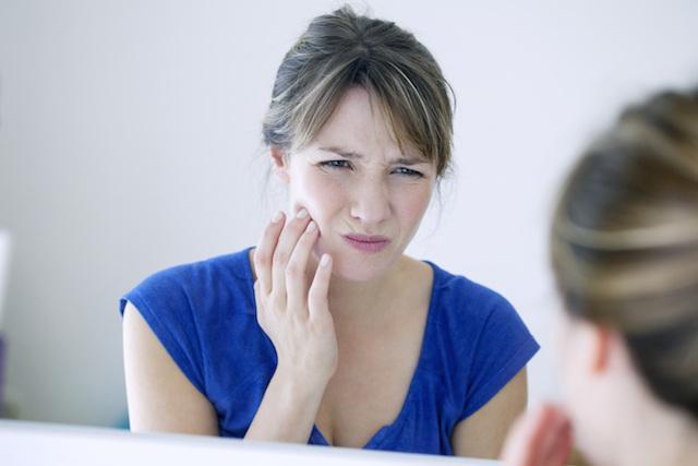 Bad root canal facial pain